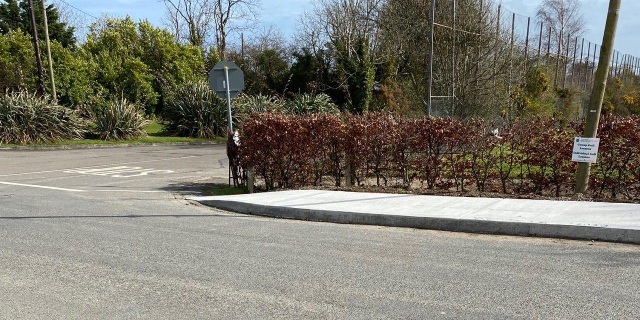 New Path Kildermot to Ballymoney Cross Completed
