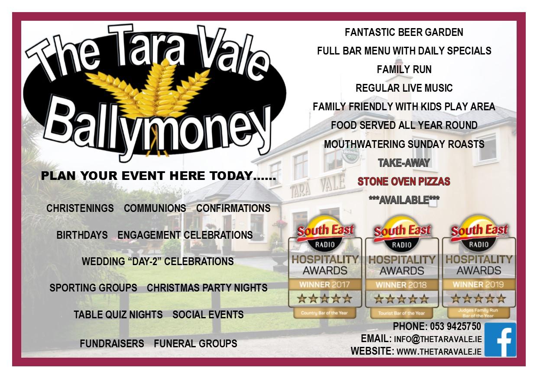 Advertisement - The Tara Vale